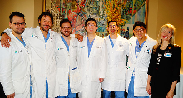 Image of the neurosurgery residents