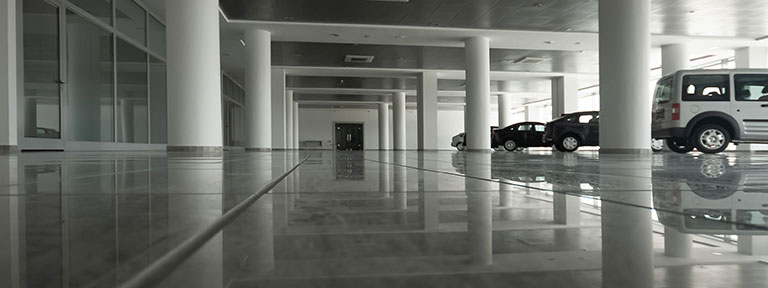 image of the parking structure of an AHN Facility