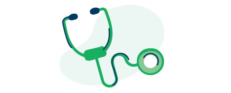 illustration of a doctor's stethoscope