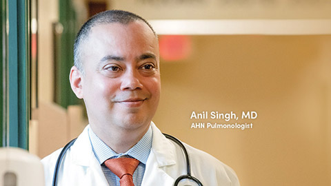 image of lung transplant specialist Anil Singh