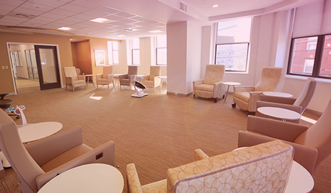 image of the Group Room at the Alexis Joy Center