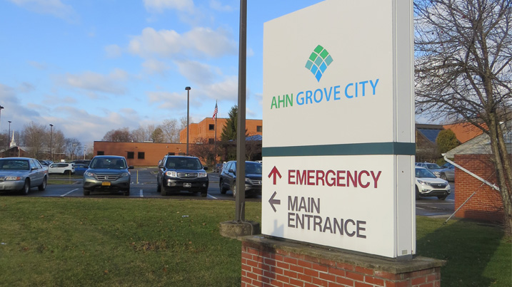 The Grove City Health Care Foundation Issues First Grant in Support of  AHN Grove City